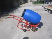 עגלה להיפוך ושינוע חביות פלסטיק HT-1440